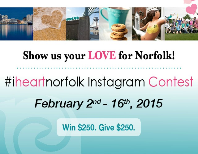 Reed & Associates Marketing #IHeartNorfolk Instagram Contest