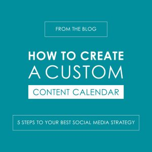 How to Create a Custom Content Calendar - reedandassociatesmarketing.com