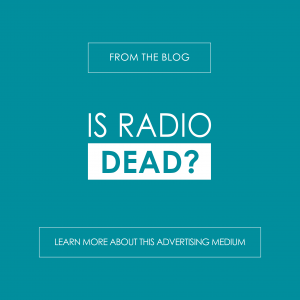 Is Radio Dead? Learn more on the R&A Blog - reedandassociatesmarketing.com
