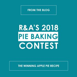 R&A's 2018 Pie Baking Content: The Winning Apple Pie Recipe - reedandassociatesmarketing.com