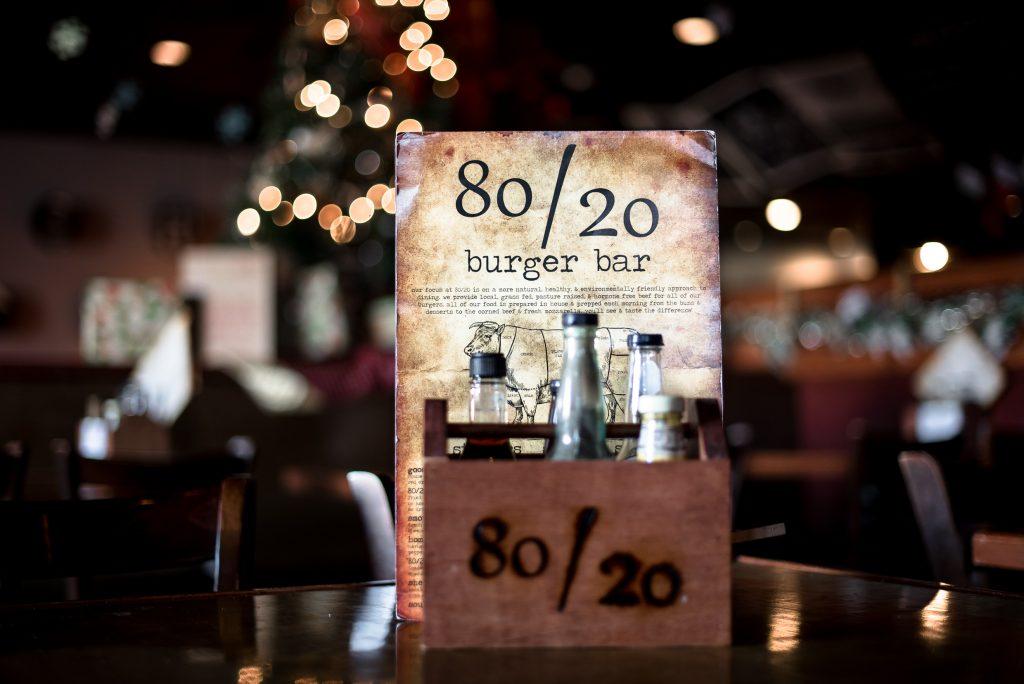 Business Spotlight: 80/20 Burger Bar - reedandassociatesmarketing.com