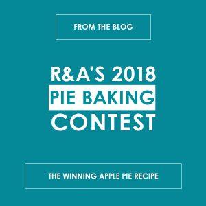 R&A's 2018 Pie Baking Content: The Winning Apple Pie Recipe - reedandassociatesmarketing.com